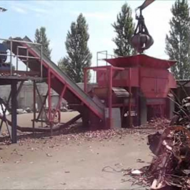 Copper Scrap Recycling Line