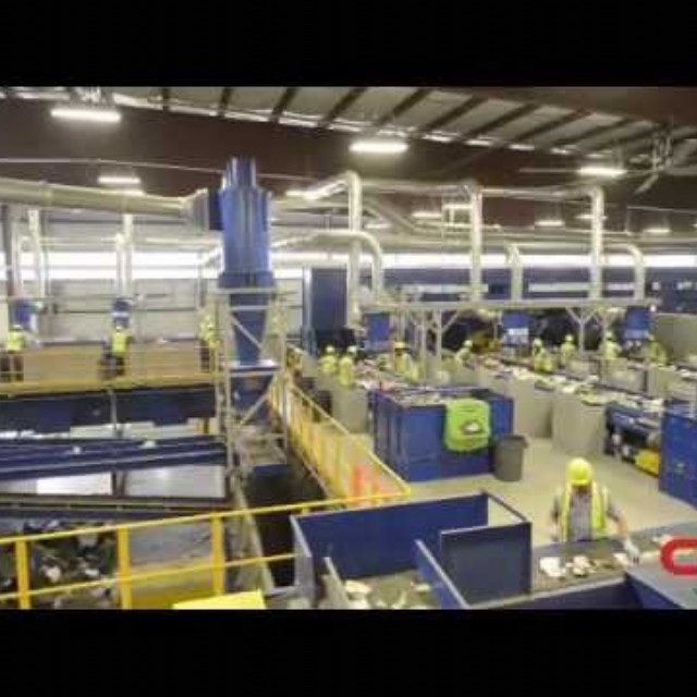 CP Group State-of-the-Art Texas Recycling Facility